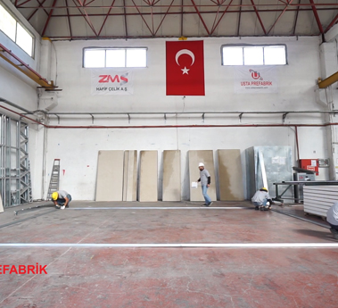 Zms Çelik Usta Prefabrik Prefabricated Building Installation