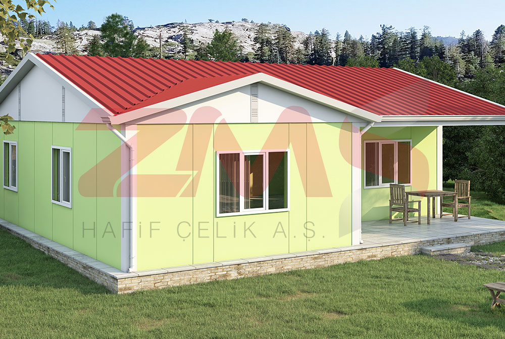 ZMS Çelik UP-121 91m²